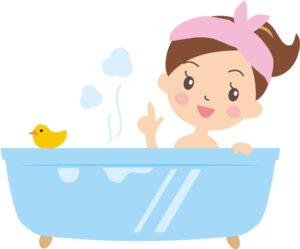 円皮鍼をしたままお風呂に入っても良いの?
